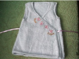 Tiny Happy Blossom A Knitted Dress Pattern