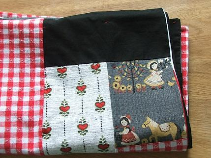 Red quilt 3