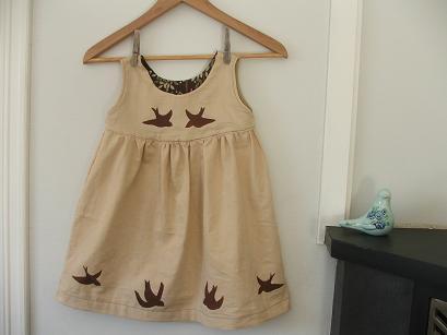 Bird dress 1