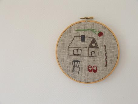 Museum embroidery