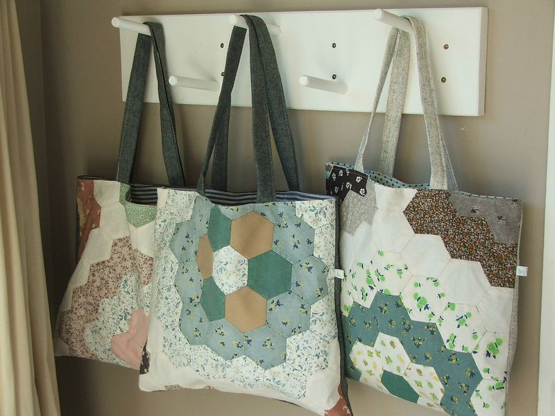 Hexagon bags