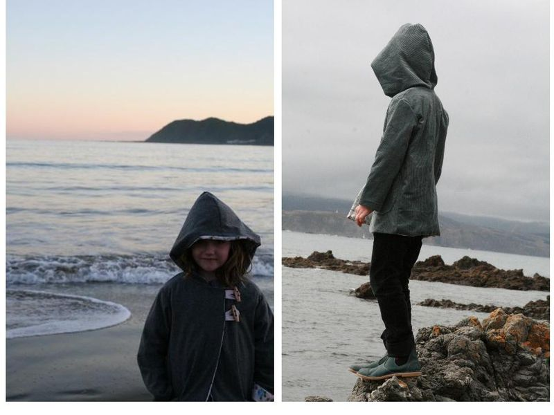Winter coats from book- lyall bay