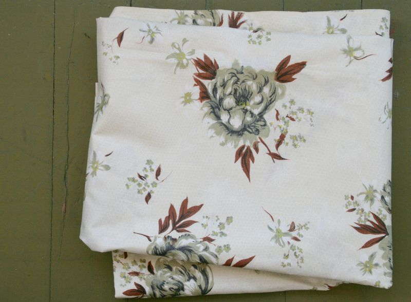 Rosy fabric