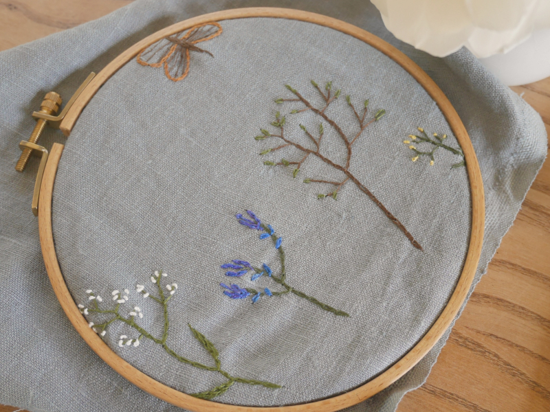 Embroidery wednesday