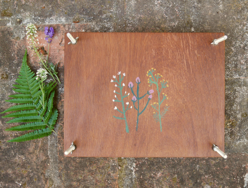 Flower press 1