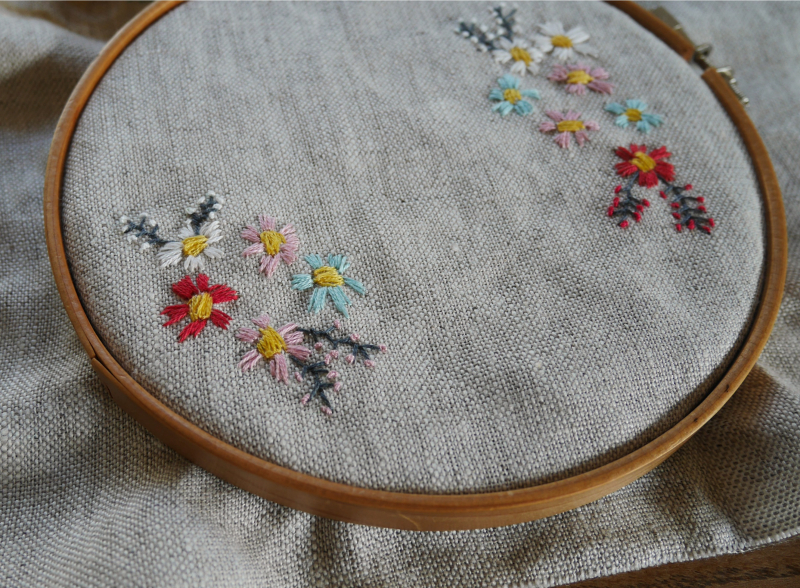 Wildflower project bag 3