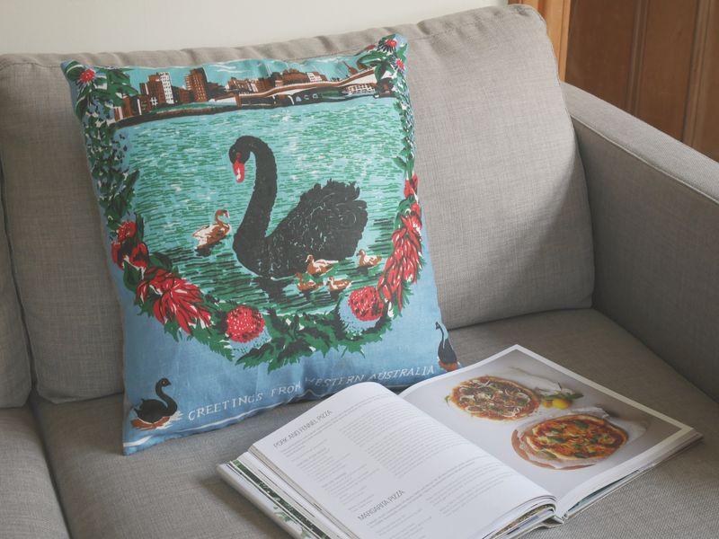 Swan pillow