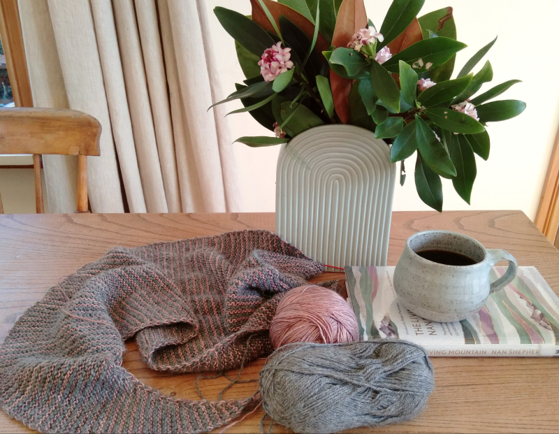Lockdown knitting