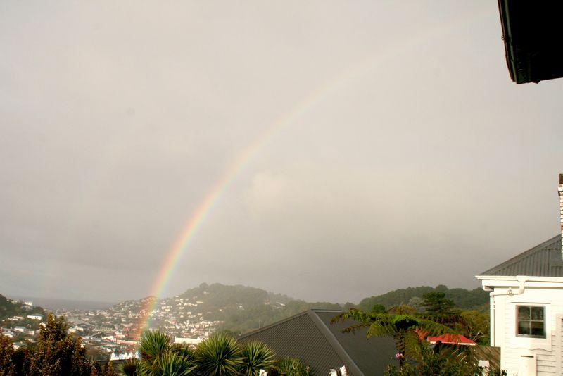 Rainbow winter