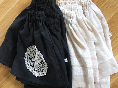 Linen_skirts